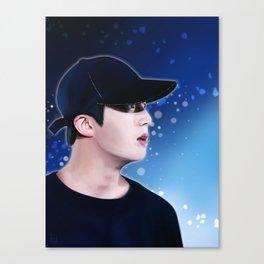 Jin - Bts Canvas Print