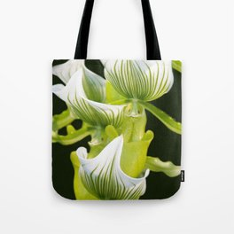 Green Orchid Tote Bag