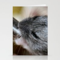 hamster Stationery Cards featuring Tiny Hamster by IowaShots