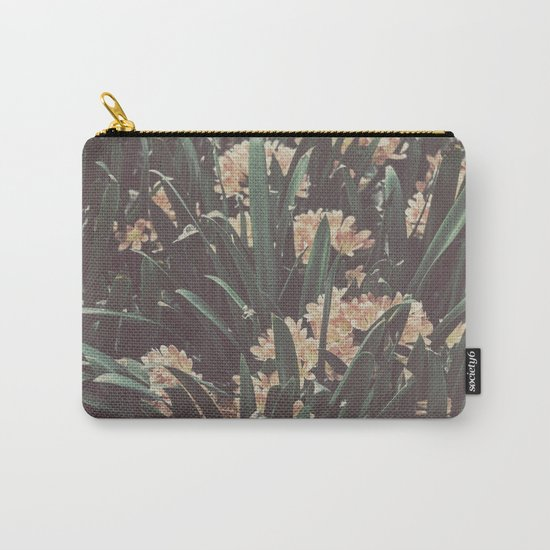 Jungle Blooms Carry-All Pouch