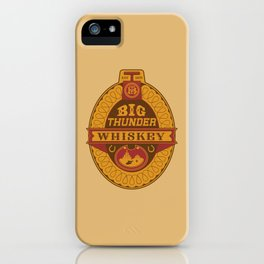 Big Thunder Whiskey iPhone Case