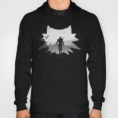 The white wolf Hoody
