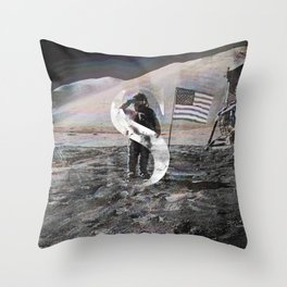 S is for Space. Throw Pillow