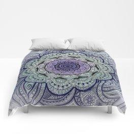 Mandala Violet Comforters