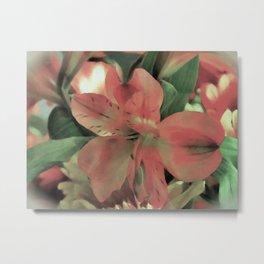 Blooming Flower Metal Print