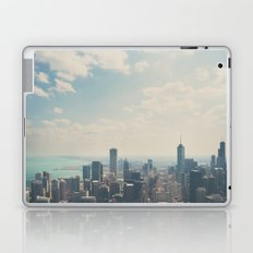 Looking down on the city ... Laptop & iPad Skin
