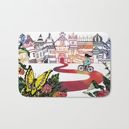Summer Cycling Bath Mat