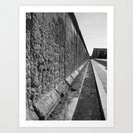 The Berlin Wall Art Print