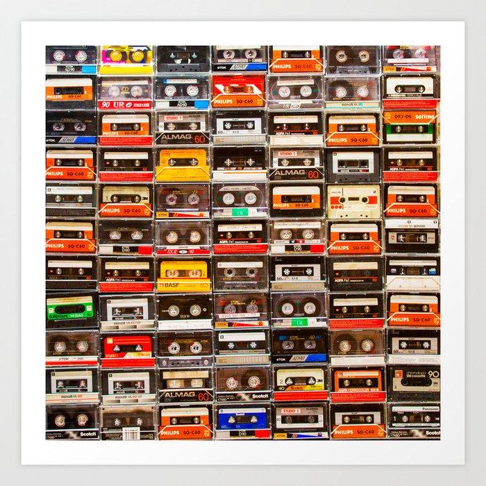 Something Nostalgic V - Music - Global Language #decor #society6 #buyart Kunstdrucke
