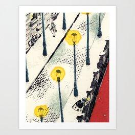 White Nights #3 Art Print