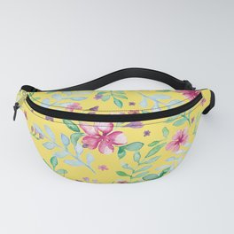 Yellow spring Fanny Pack