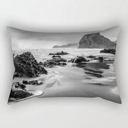 Piha Beach - New Zealand Rectangular Pillow
