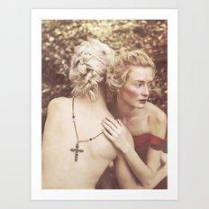 Elena & Dylan Art Print