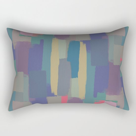 Abstract Painting II Rectangular Pillow