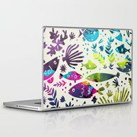 under the sea Laptop & iPad Skins featuring Under The Sea by 83 Oranges™