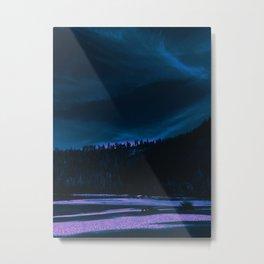 neon beach Metal Print