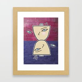 The Marriage Framed Art Print
