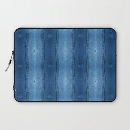 Denim Diamond Waves vertical patten Laptop Sleeve
