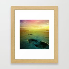 The First Step (Color) Framed Art Print