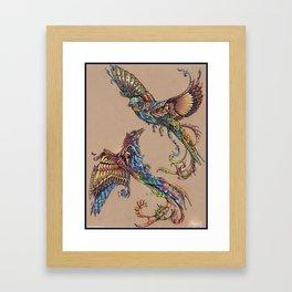 Flight Of Paradise Framed Art Print
