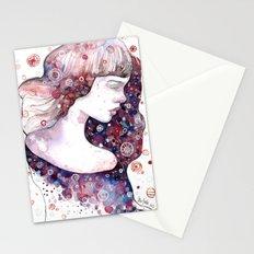 Evening star Stationery Cards