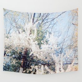 Telephone Pole Wall Tapestry