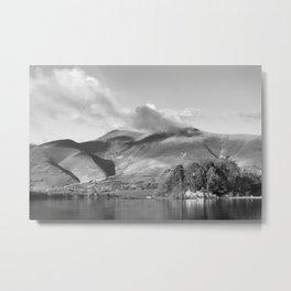 Skiddaw Impressions 4 Metal Print
