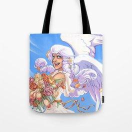 Angel Bloom Tote Bag