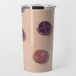 #02#Beercaps#vintage#collection Travel Mug