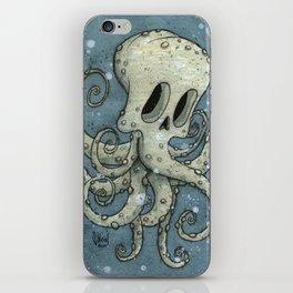 Nasty octopus iPhone Skin