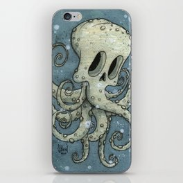 Nasty octopus iPhone Skin