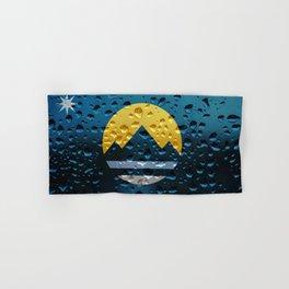 Flag of Reno - Raindrops Hand & Bath Towel