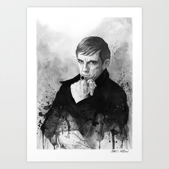 Barnabas Collins DARK SHADOWS Art Print