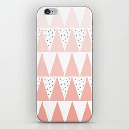 Spikes and Dots iPhone Skin