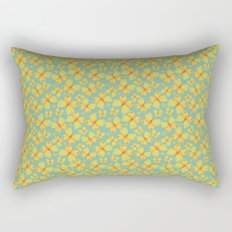Yellow Butterflies Rectangular Pillow