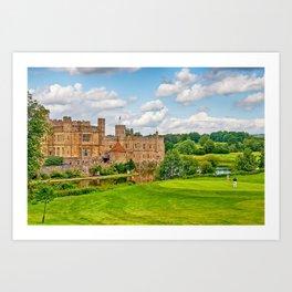 Leeds Castle Golf 3 Art Print