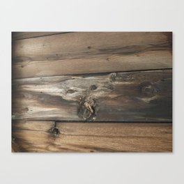 Wood Planks Canvas Print