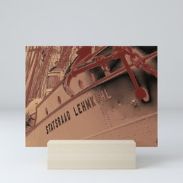 Statsraad Lehmkuhl - The tall ship Mini Art Print