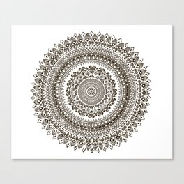 Mandala Illustration Canvas Print