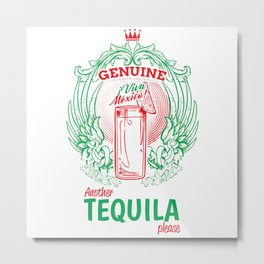 Another Tequila Metal Print