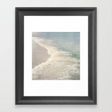 Turquoise Seas Framed Art Print
