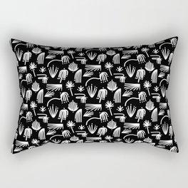 Del trópico Rectangular Pillow