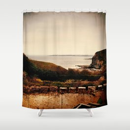 Southerndown 3 Shower Curtain