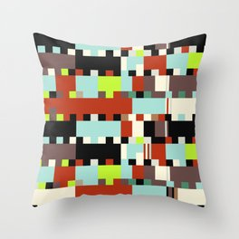 Chopin Fantaisie Impromptu (Dublin Airport Colours) Throw Pillow