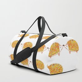 Kissing Hedgehogs Duffle Bag