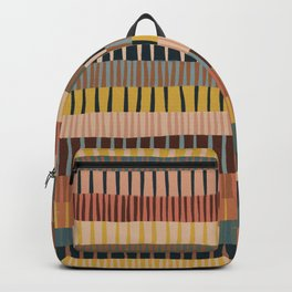 Mix of Stripes #2 Backpack