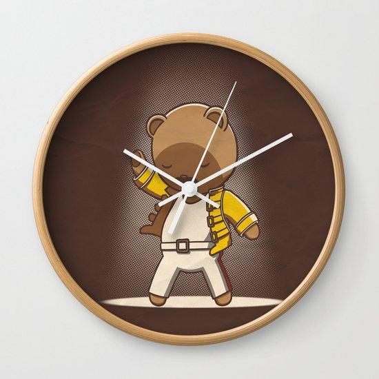 Teddy Mercury Wall Clock