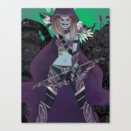 Banshee Queen Canvas Print