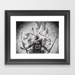 jaw Framed Art Print