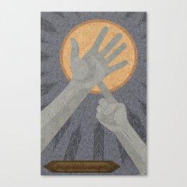 Dandelions - (Artifact Series) Canvas Print